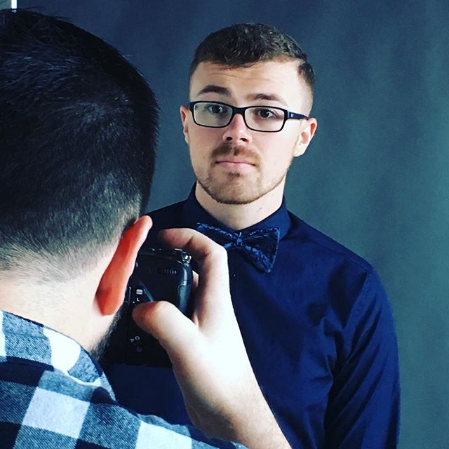 Behind the camera lens. Thanks @lukeanthonyphoto and @sean_red_ for making it look so effortless. #behindthescenes #fashionphotography #gq #esquire #mensfashion #beauhawkshop