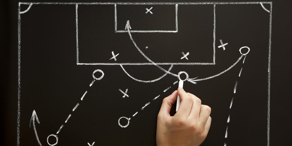 You would never let a football team run out onto the pitch without doing the necessary preparation and working out the tactics and strategy first