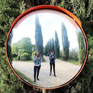 Through the Looking Glass and into a Tuscan Wonderland