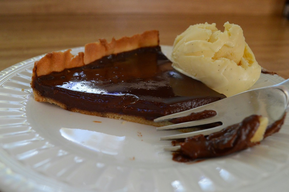 Francois' Warm Chocolate Tart