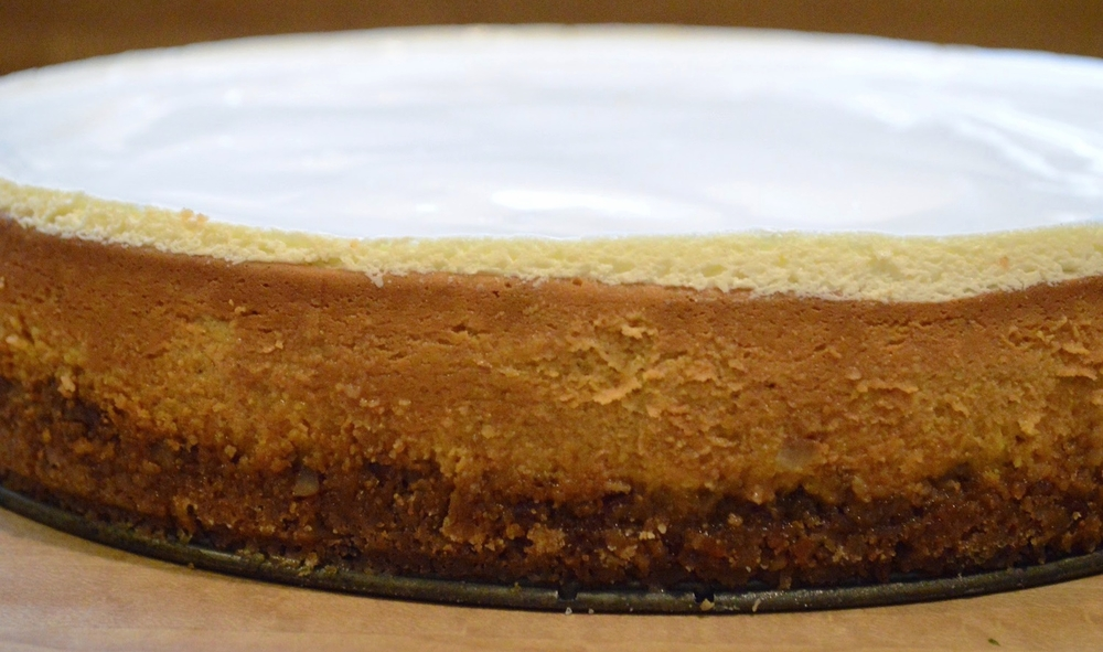 Gourmet's Pumpkin Cheesecake
