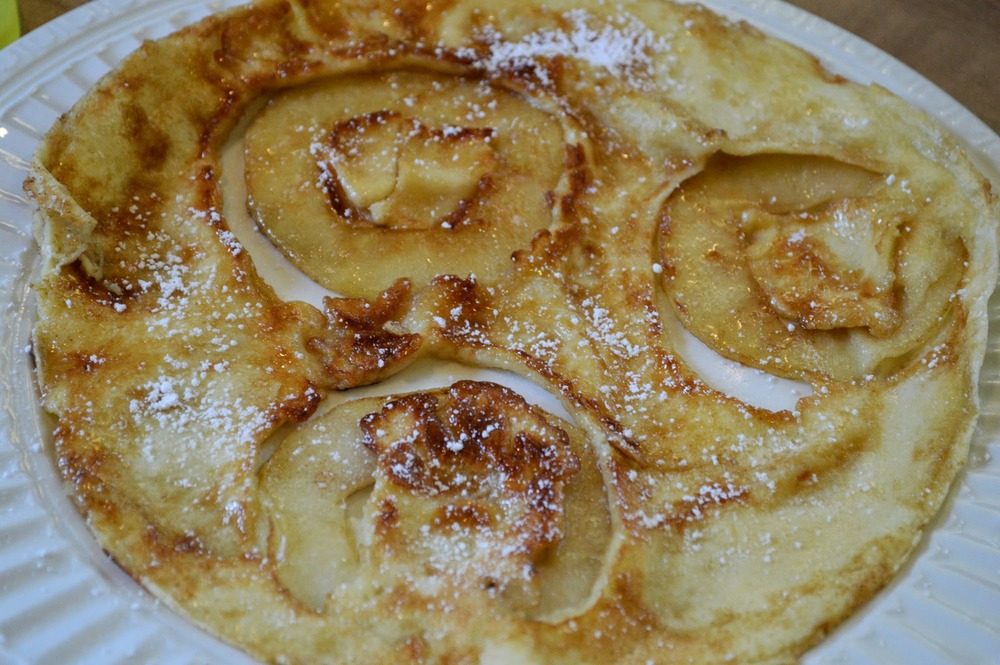 Caramelized Apple Crepe