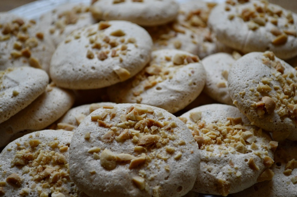 Peanut Butter Meringues