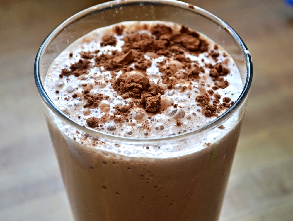 Skinny Frozen Hot Chocolate — Unwritten Recipes