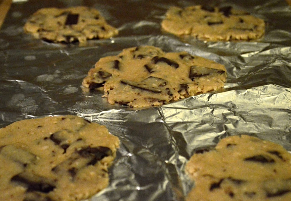 Ultra Thin Chocolate Chunk Cookies — Unwritten Recipes