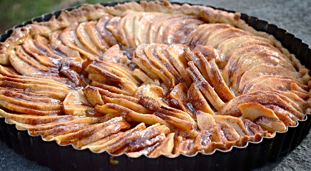 Nick's Rustic Apple Tart