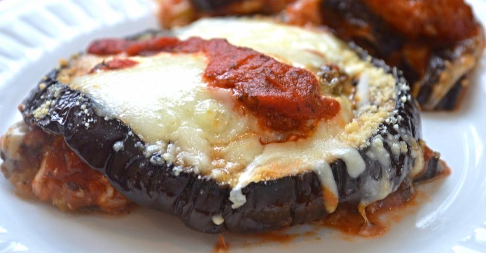 Roasted Eggplant Parmigiana
