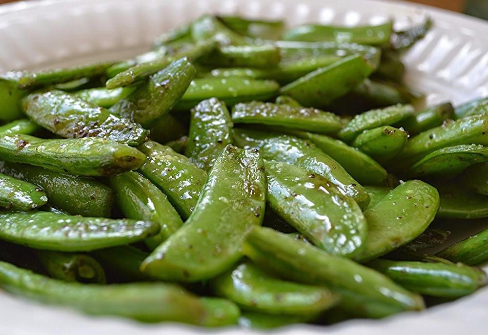 Sauteed Sugar Snap Peas