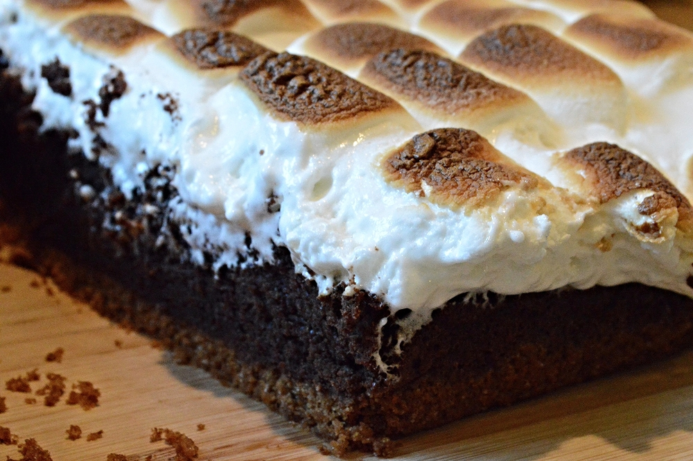 Food networks smores brownies famous fridays unwritten recipes its hard to believe its been over 20 years that the food network has been in existence what the heck did we watch before then from chopped to diners forumfinder Gallery