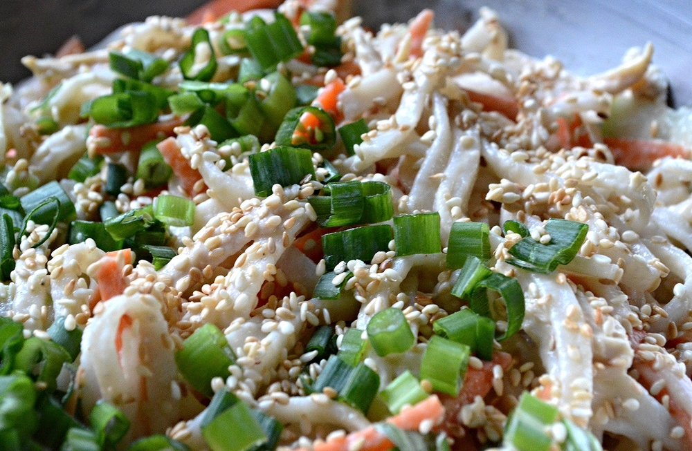 Shredded Chicken Breast & Noodle Salad