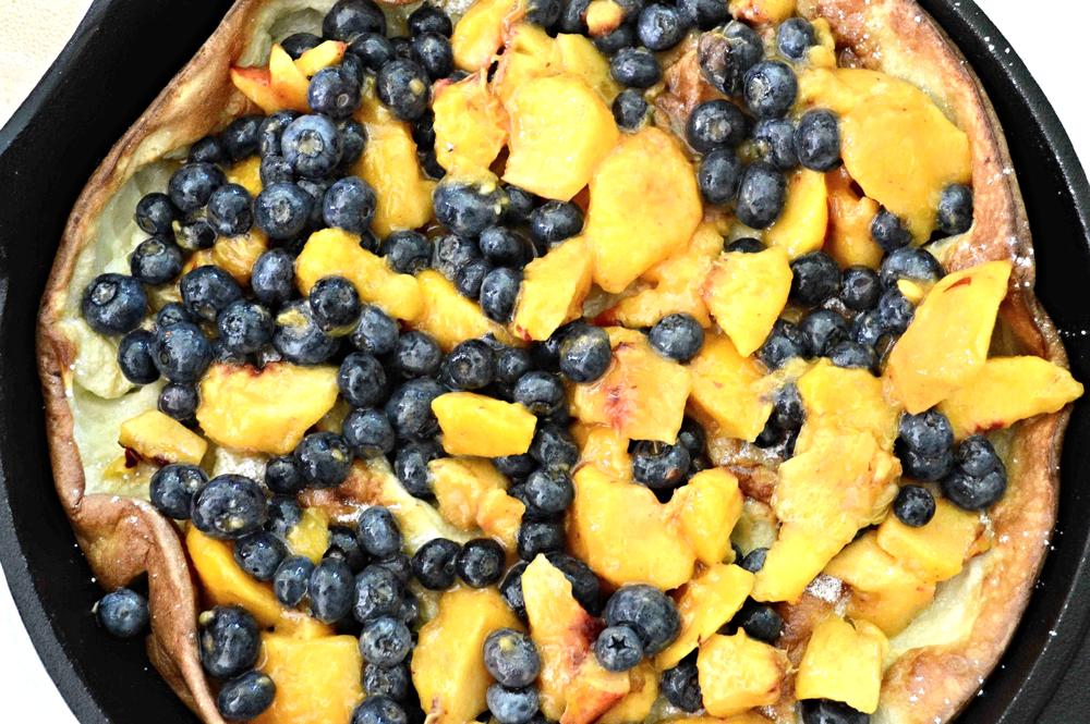 "Greenmarket's ""Use -Up-The Fruit"" Pancake"