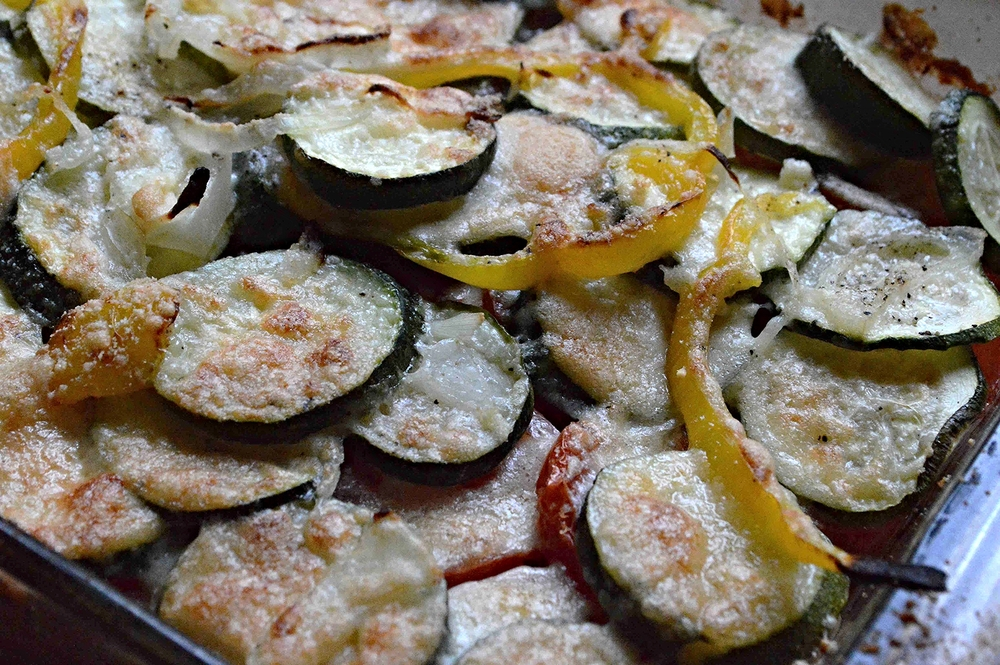 Layered Summer Vegetable Casserole