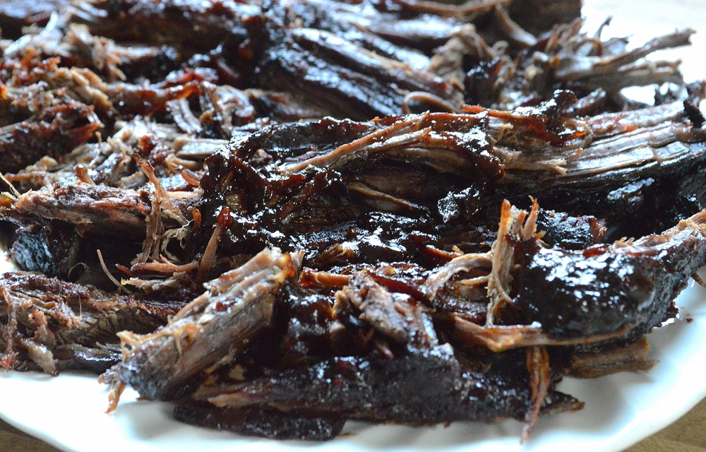 Maple Chipotle Barbecued Brisket