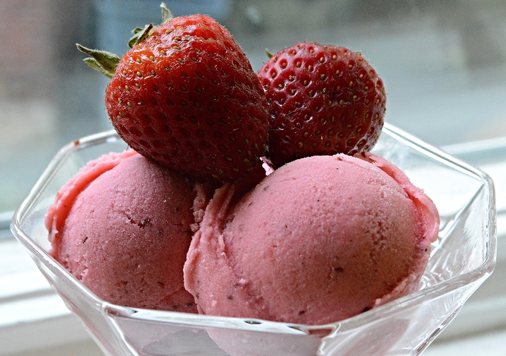 Roasted strawberry buttermilk sherbet unwritten recipes so if you like me are looking to hold on to summer for just a little bit longer make this scrumptious sherbet kick back and relax doesnt hurt that ccuart Gallery