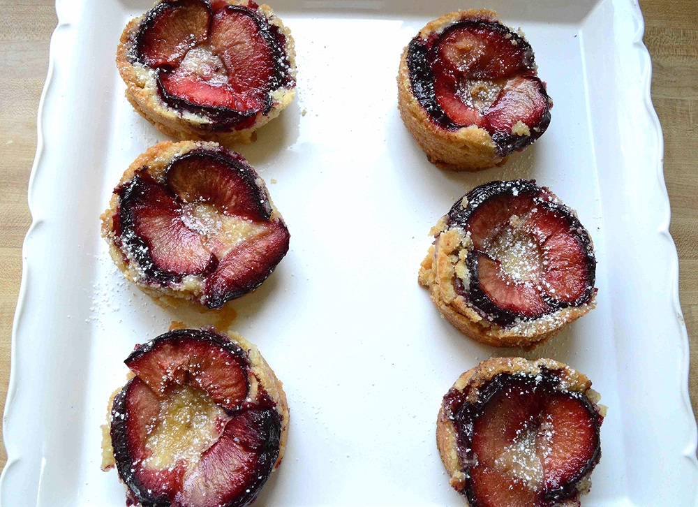 Back in the Day Bakery's Plum Tartlets-Famous Fridays
