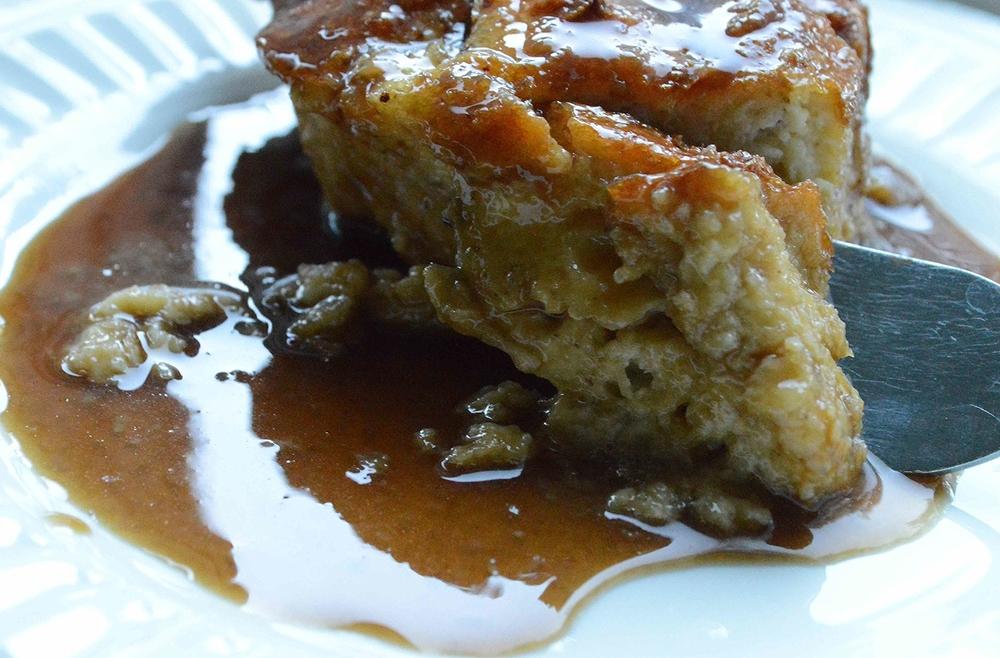 Creme Caramel Bread Pudding