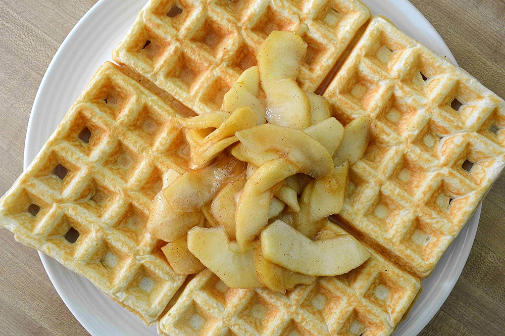 Dishing Up Vermont's Maple Apple Waffles