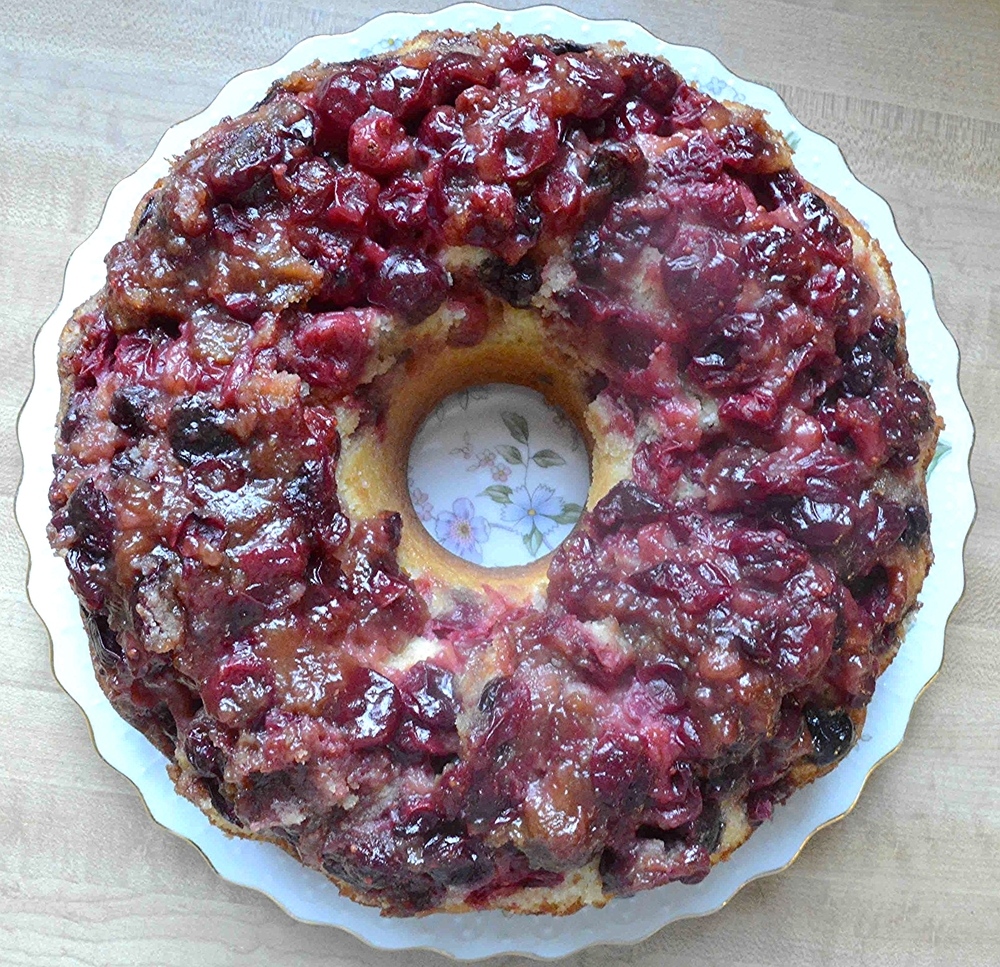 Cranberry Lemon Bundt Cake