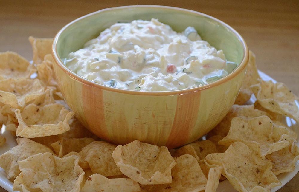Spicy tex-Mex Cheese Dip
