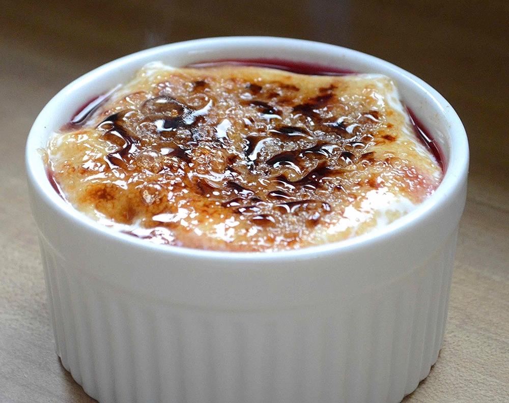 Bobby Flay's Yogurt Parfait Creme Brulee