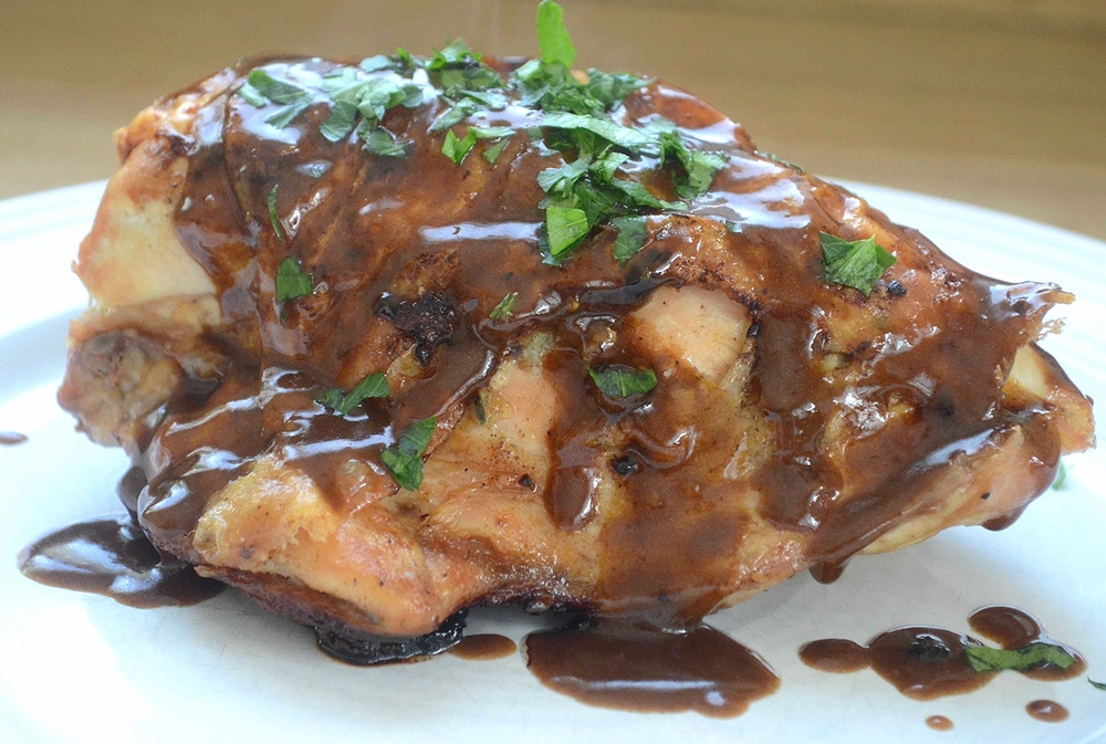 Weeknight Pan Roasted Chicken and Gravy