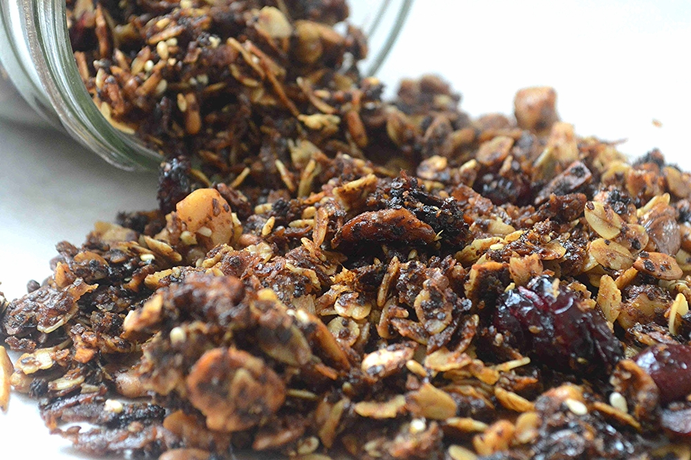 Sweet Salty Seedy Granola