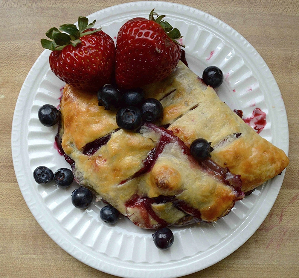 Strawberry Blueberry Turnovers
