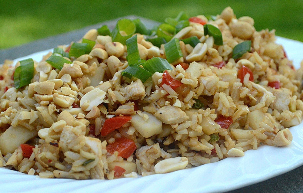 Healthier Chicken Fried Rice