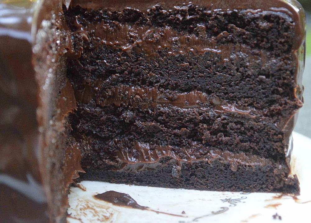 The SoNo Baking Company's Chocolate Ganache Cake-Famous Fridays ...