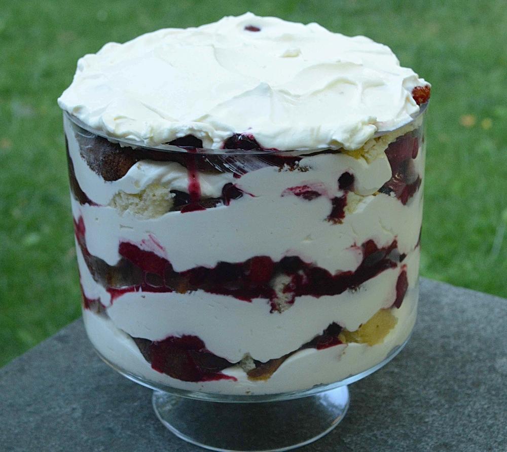Summer Berry Lemon Trifle