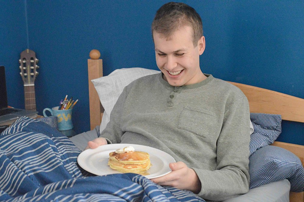 Breakfast-In-Bed Pancakes