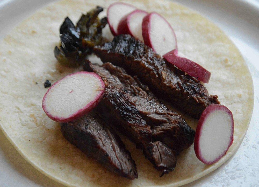 Jalapeño and Lime Steak Tacos
