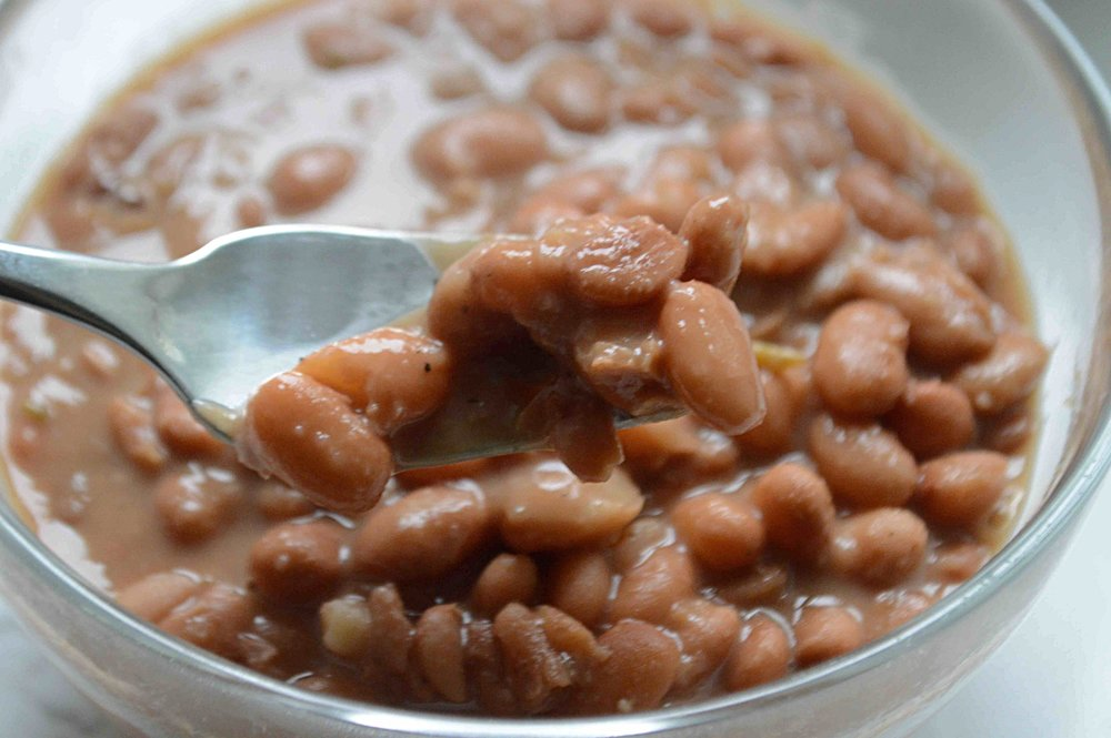 Spicy Pinto Beans (aka Healthier Unfried Refried Beans)