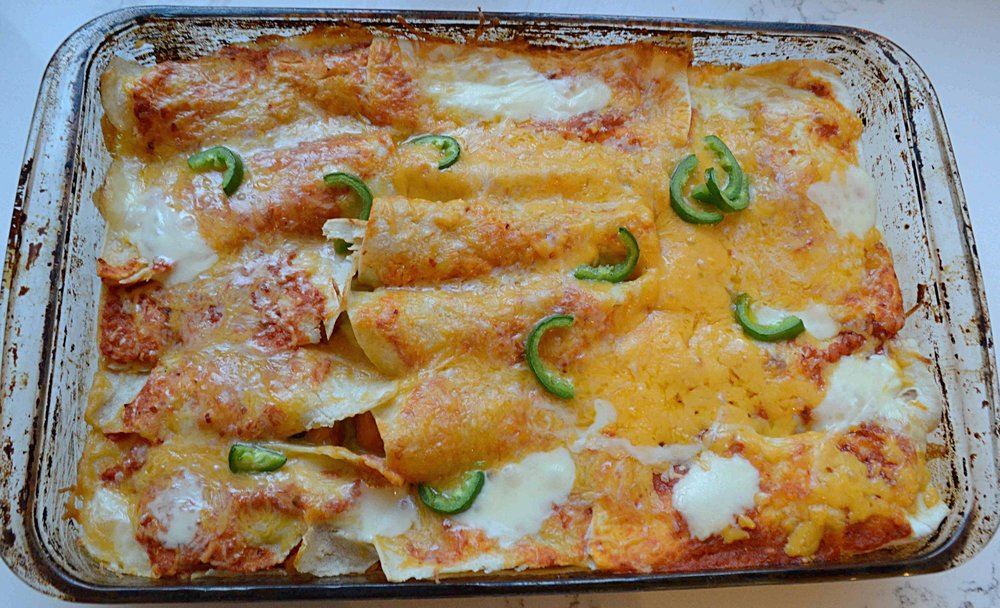 The Love and Lemons Vegetarian Enchiladas
