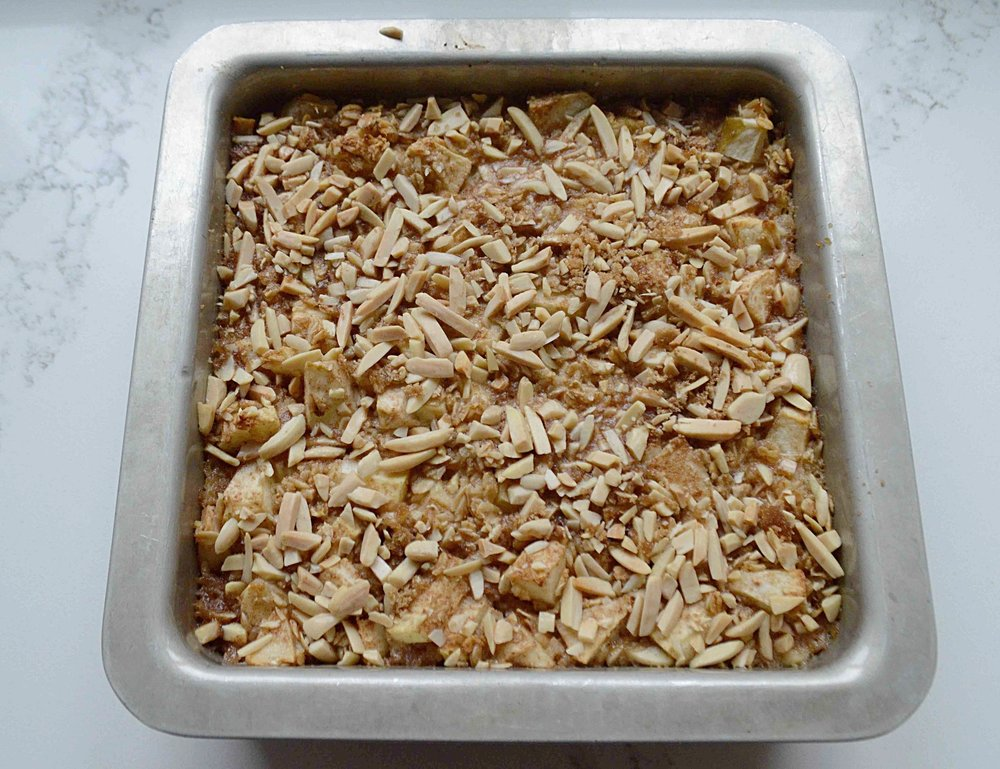 Cinnamon-Apple Baked Oatmeal