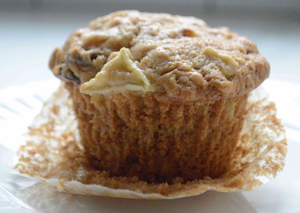 Apple Oatmeal Breakfast Muffins