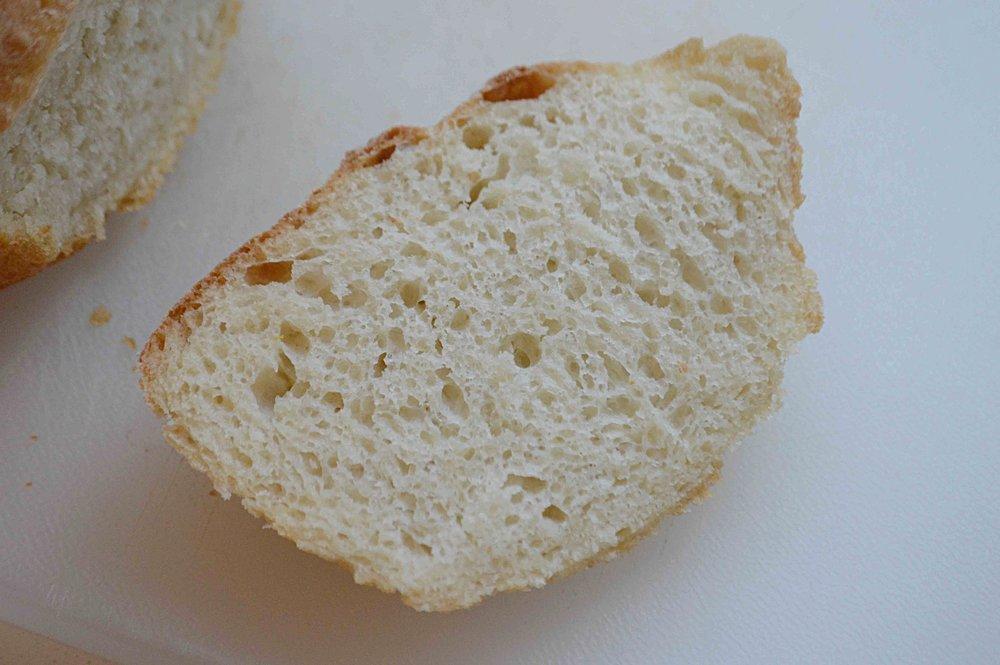 No-Knead Peasant Bread