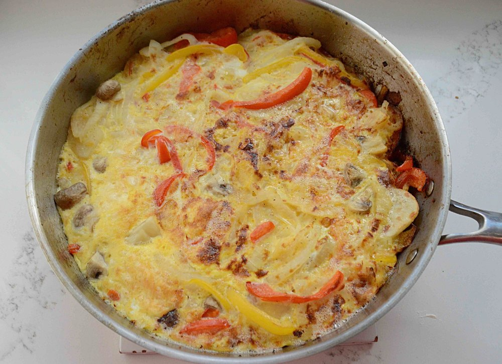 """Anytime of the Day"" Veggie Frittata"