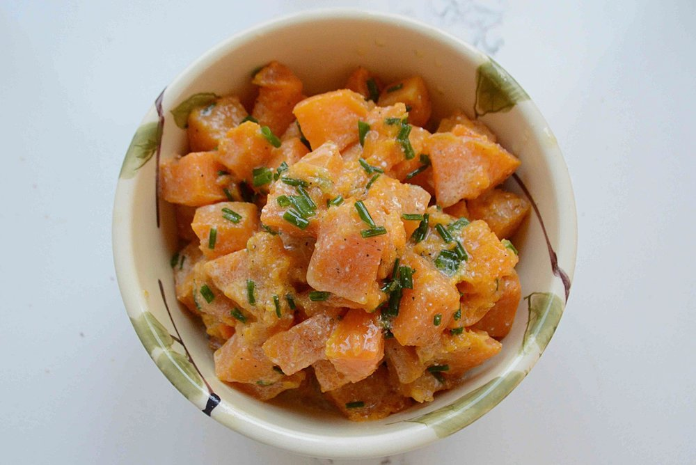 Roasted Butternut Squash with Lemon Vinaigrette