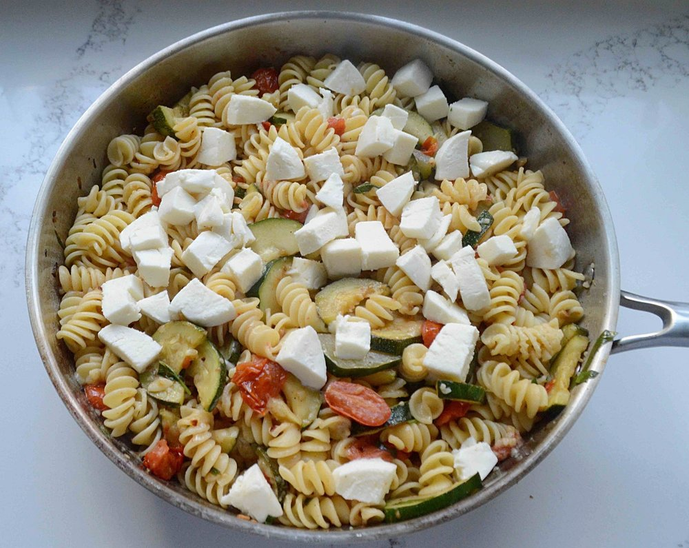 Tomato & Zucchini Melt