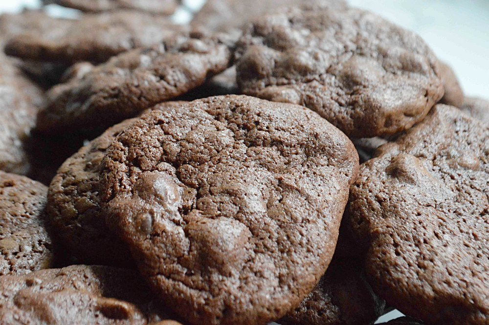 One-Bowl Brownie Cookies