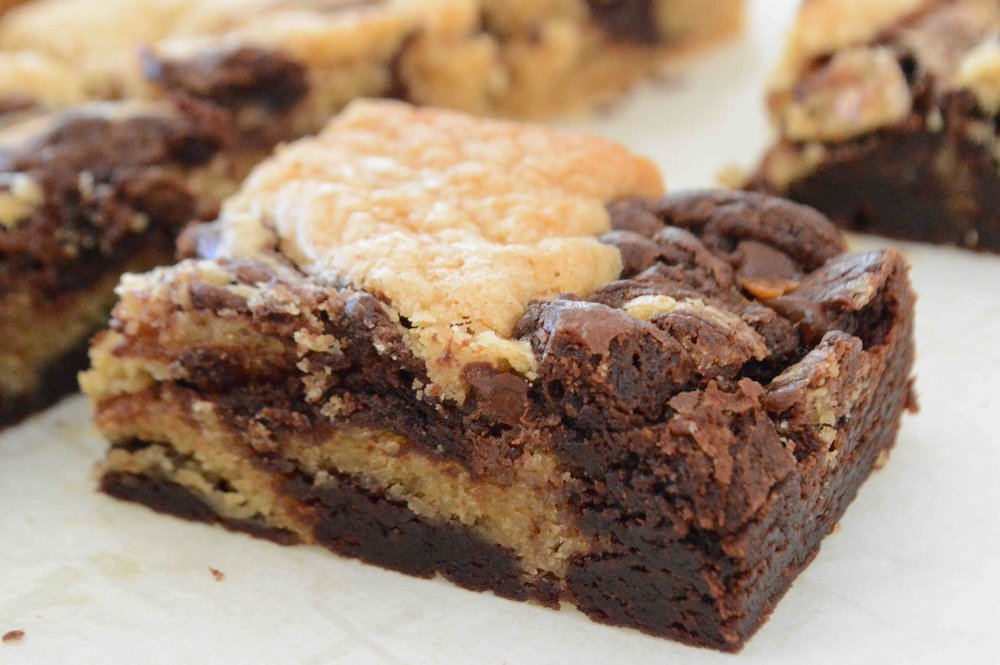 Peanut+Butter+and+Chocolate+Brownies