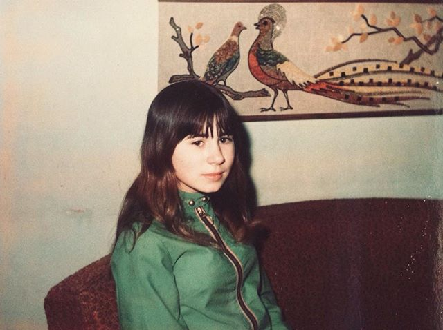 Crys' mama circa 1970 looking adorable. No wonder she names her as her beauty icon!