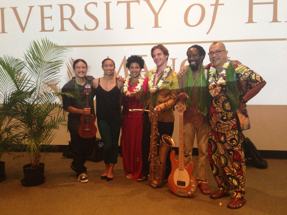 Ben Barson with Fred Ho at the The University of Hawaiʻi
