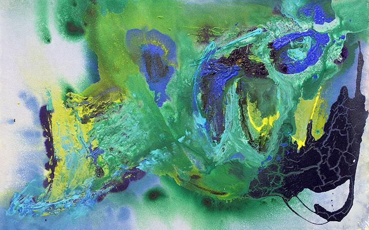Blue/Green #1