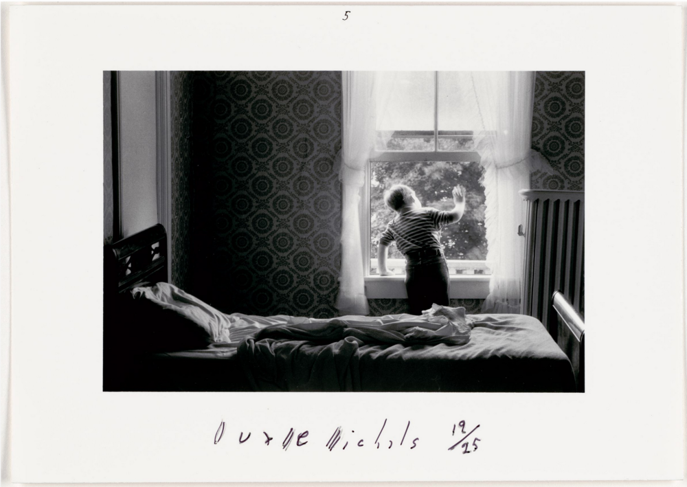 Grandpa Goes To Heaven, 1989 by Duane Michals