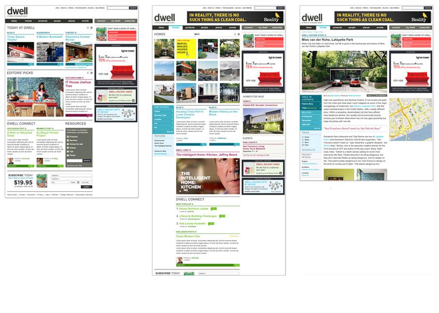Page designs