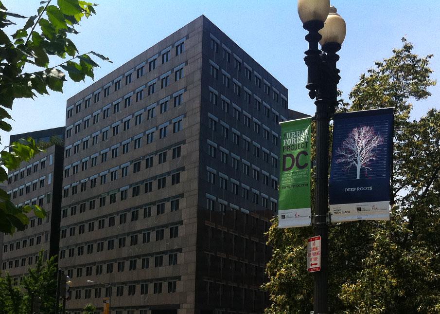 Banner in-situ in DC