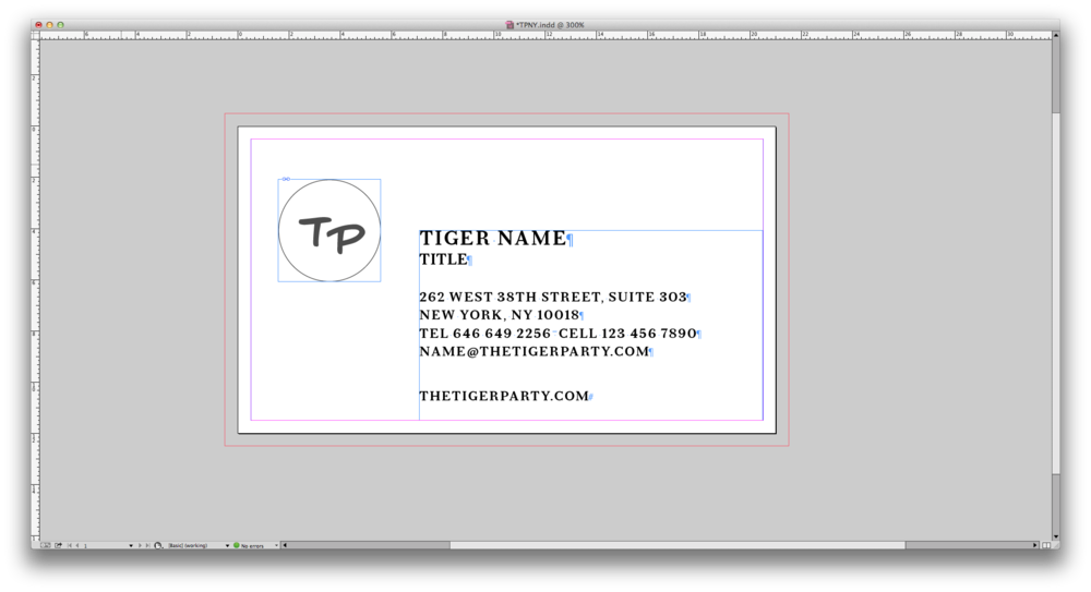 Using Data Merge function in InDesign to create business card ...