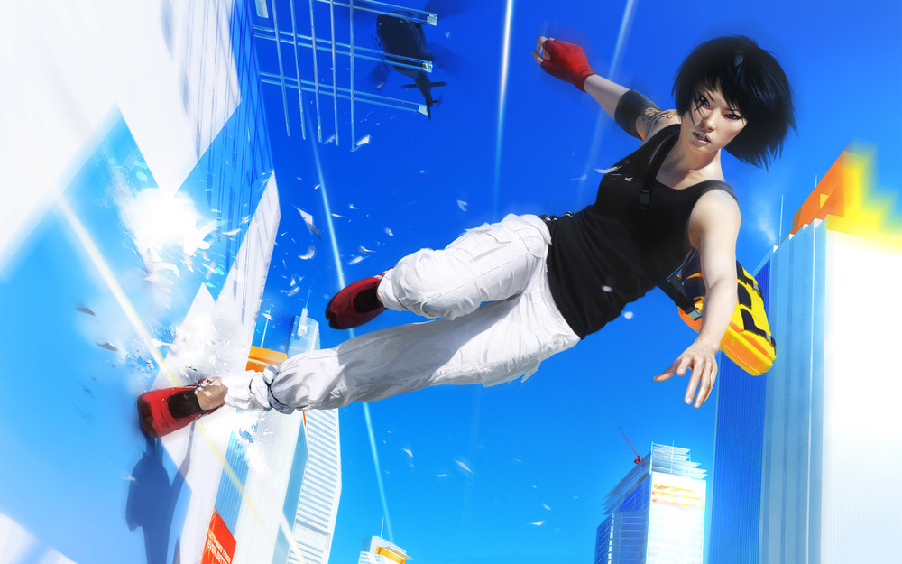 Just gotta have Faith. Images from  Mirror's Edge .